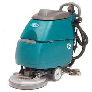 Automatic floor scrubber machine