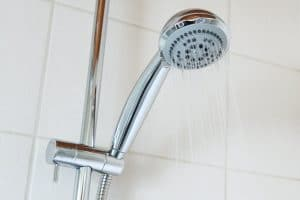 Saving water with eco-friendly shower head