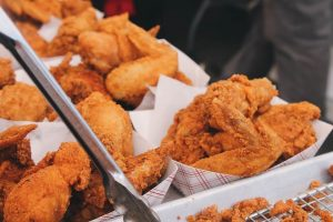 Fried chicken for house party