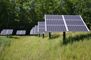Solar panel used as green resouce