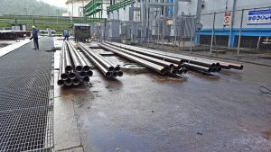 Pipes at Petroleum industry
